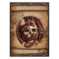 United Weavers Legends Snake Eyes Printed Rug - 5'3'' x 7'2''