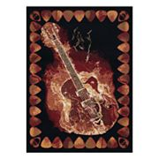 United Weavers Legends Strummer Printed Rug - 5'3'' x 7'2''