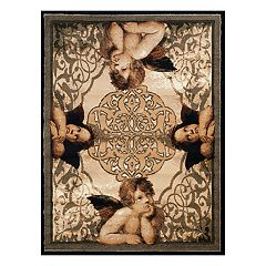 United Weavers Legends Cherubs Printed Rug - 5'3'' x 7'2''