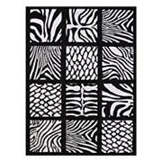 United Weavers Legends Cubic Zebra Printed Rug - 5'3'' x 7'2''