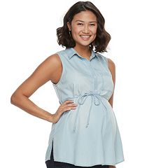 Maternity a:glow Sleeveless Blouse