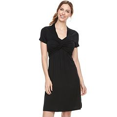 Maternity a:glow Knot Nursing Dress