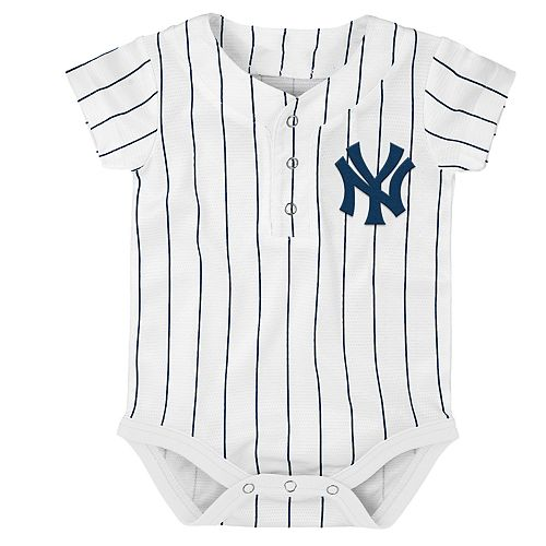 low priced 60212 99f2e Baby New York Yankees Jersey Bodysuit