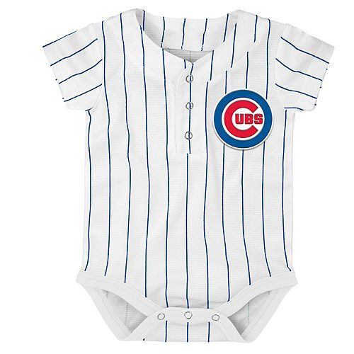 sneakers for cheap 75a68 98686 Baby Chicago Cubs Jersey Bodysuit