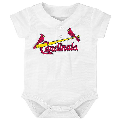 Baby St. Louis Cardinals Jersey Bodysuit