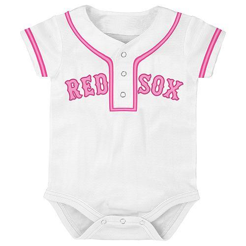 Baby Boston Red Sox Jersey Bodysuit