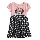 Disney's Minnie Mouse Toddler Girl Polka-Dot Skirt Dress by Jumping Beans®