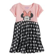 Disney's Minnie Mouse Toddler Girl Polka-Dot Skirt Dress by Jumping Beans®