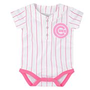 Baby Chicago Cubs Jersey Bodysuit