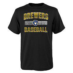 Boys 4-18 Milwaukee Brewers Hall of Fame Tee
