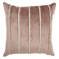 Inspire Me! Home Decor Pleated Stripes Throw Pillow