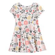 Toddler Girl Jumping Beans® Princess Seam Printed Dress
