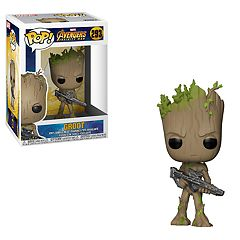 Funko POP Marvel: Avengers Infinity War Groot Figure