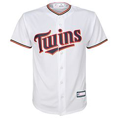 Boys 8-20 Minnesota Twins Home Replica Jersey