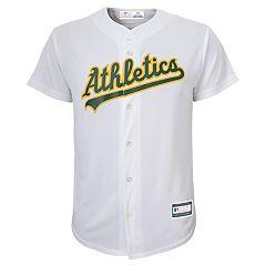 Boys 8-20 Oakland Athletics Home Replica Jersey