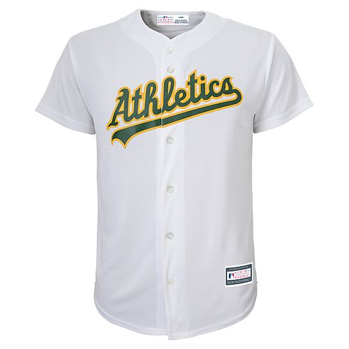 Boys 8-20 Oakland Athletics Home Replica Jersey