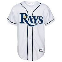 Boys 8-20 Tampa Bay Rays Home Replica Jersey