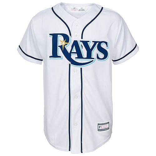 Boys 8-20 Tampa Bay Rays Home Replica Jersey