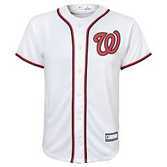 Boys 8-20 Washington Nationals Home Replica Jersey