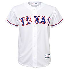 Boys 8-20 Texas Rangers Home Replica Jersey