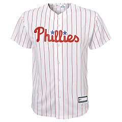 Boys 8-20 Philadelphia Phillies Home Replica Jersey