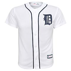 Boys 8-20 Detroit Tigers Home Replica Jersey