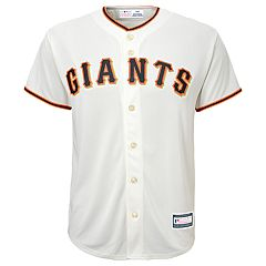 Boys 8-20 San Francisco Giants Home Replica Jersey