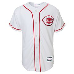 Boys 8-20 Cincinnati Reds Home Replica Jersey