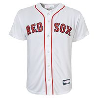 Boys 8-20 Boston Red Sox Home Replica Jersey