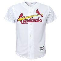 Boys 8-20 St. Louis Cardinals Home Replica Jersey