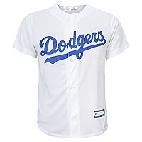 Boys 8-20 Los Angeles Dodgers Home Replica Jersey