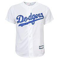 Boys 8-20 Los Angeles Dodgers Home Replica Jersey