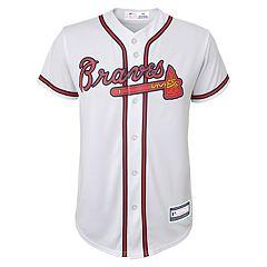 Boys 8-20 Atlanta Braves Home Replica Jersey