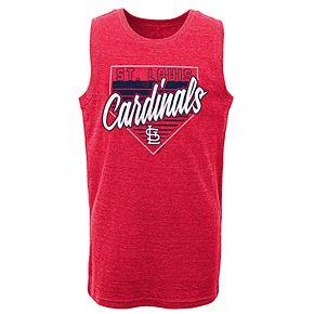 Boys 8-20 St. Louis Cardinals Our Era Tank Top