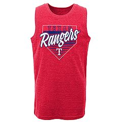 Boys 8-20 Texas Rangers Our Era Tank Top