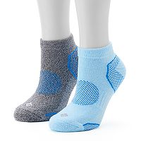 Women's Columbia 2-Pack Balance Point Low-Cut Walking Socks