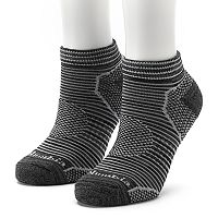 Women's Columbia 2-Pack Space-Dyed Balance Point Low-Cut Walking Socks
