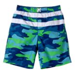 Boys 4-7 I-Extreme Camouflaged Swim Trunks