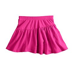 Girls 4-10 Jumping Beans® Solid Tulip Tiered Skort