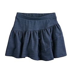 Girls 4-10 Jumping Beans® Chambray Tiered Skort