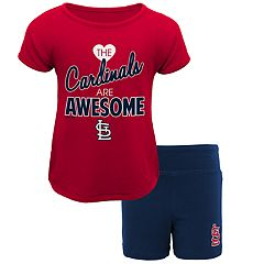 Toddler St. Louis Cardinals Awesome Tee & Yoga Shorts Set