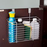 Home Basics Steel Over the Cabinet Basket