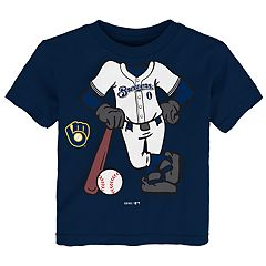 Toddler Milwaukee Brewers  Player Tee