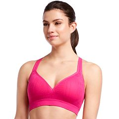 Jockey Sport Hippie Jacquard Medium-Impact Sports Bra 9599