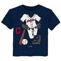 Toddler Cleveland Indians Player Tee