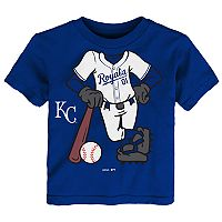 Toddler Kansas City Royals Player Tee