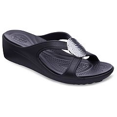 Crocs Sanrah Women's Wedge Sandals