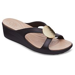 Crocs Sanrah Women's Wedge Sandals
