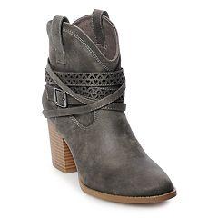 SO® Elm Women's High Heel Ankle Boots