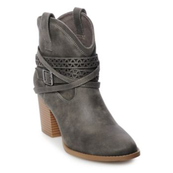 SO® Elm Women's High Heel Ankle Boots